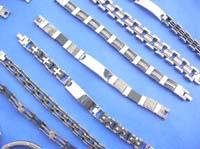 wholesale assortment of stainless steel bracelts