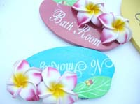 foam-plumeria-wooden-sign-1c