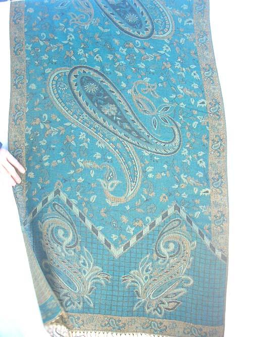 Shawls Manufacturer Wholesale  Pashminawoolpaisleyshawl  Pashmina Paisley Shawl