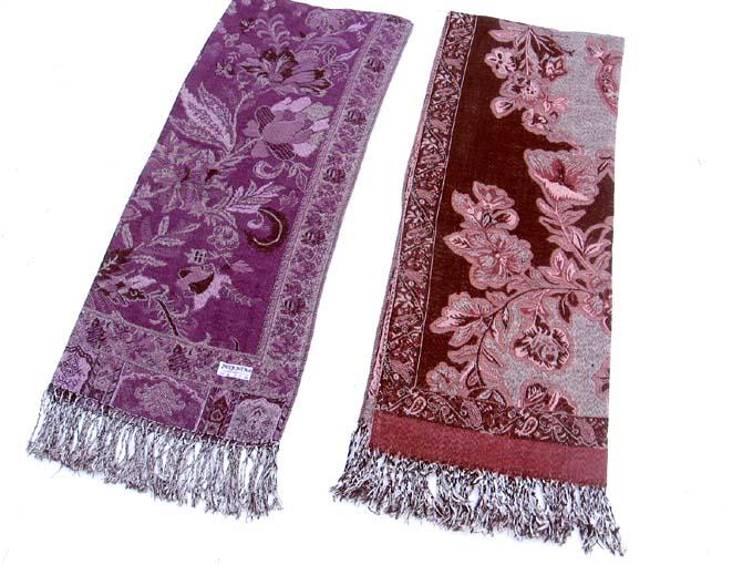 Wholesalesarongcom  pashminashawlgiantpaisley382g Pashmina Paisley Shawl