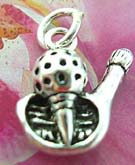 Golfers 925. sterling silver pendant