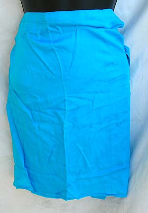 Bali direct import summer casual wear wholesale sea blue mini cotton skirt beach cover up