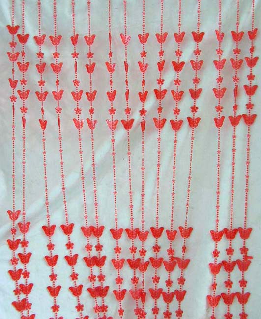 Home decor magazine show online supply fancy butterfly beaded curtain