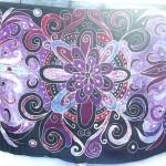Wholesale Clothing. fantasy geometric flower pattern sarong.