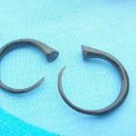 organics jewelry. water buffalo horn talon jewelry for stretched piercings.