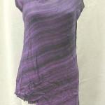 Wholesale rayon dress. Fashionable angle cut rayon top.