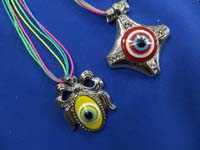 evil eye jewelry, evil eye pendant necklace or necklace earring jewelry set