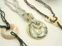Spiny oyster jewelry bali necklace