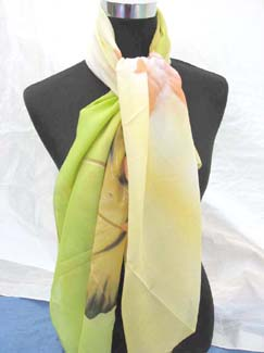 lotus-polyester-scarf-yellow-1b