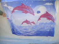 polyester-colorful-printing-scarf-638h-dolphin-sunburst-butterfly