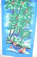 Coconut tree summer fashion beach towel