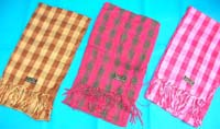 mixed colors unisex keffiyeh scarves, oblong khaki Arab scarfs